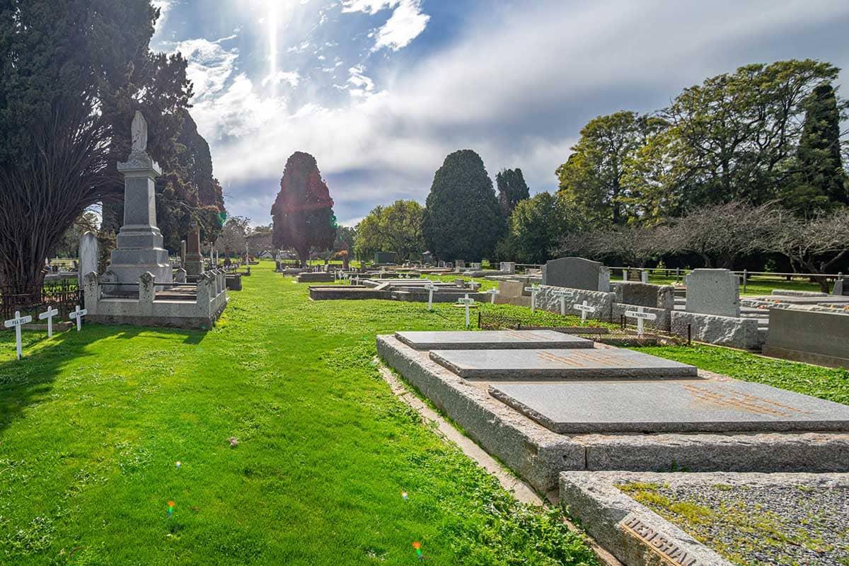 Day in Murchison Cemetery | Slides 06 | Murchison Cemetery