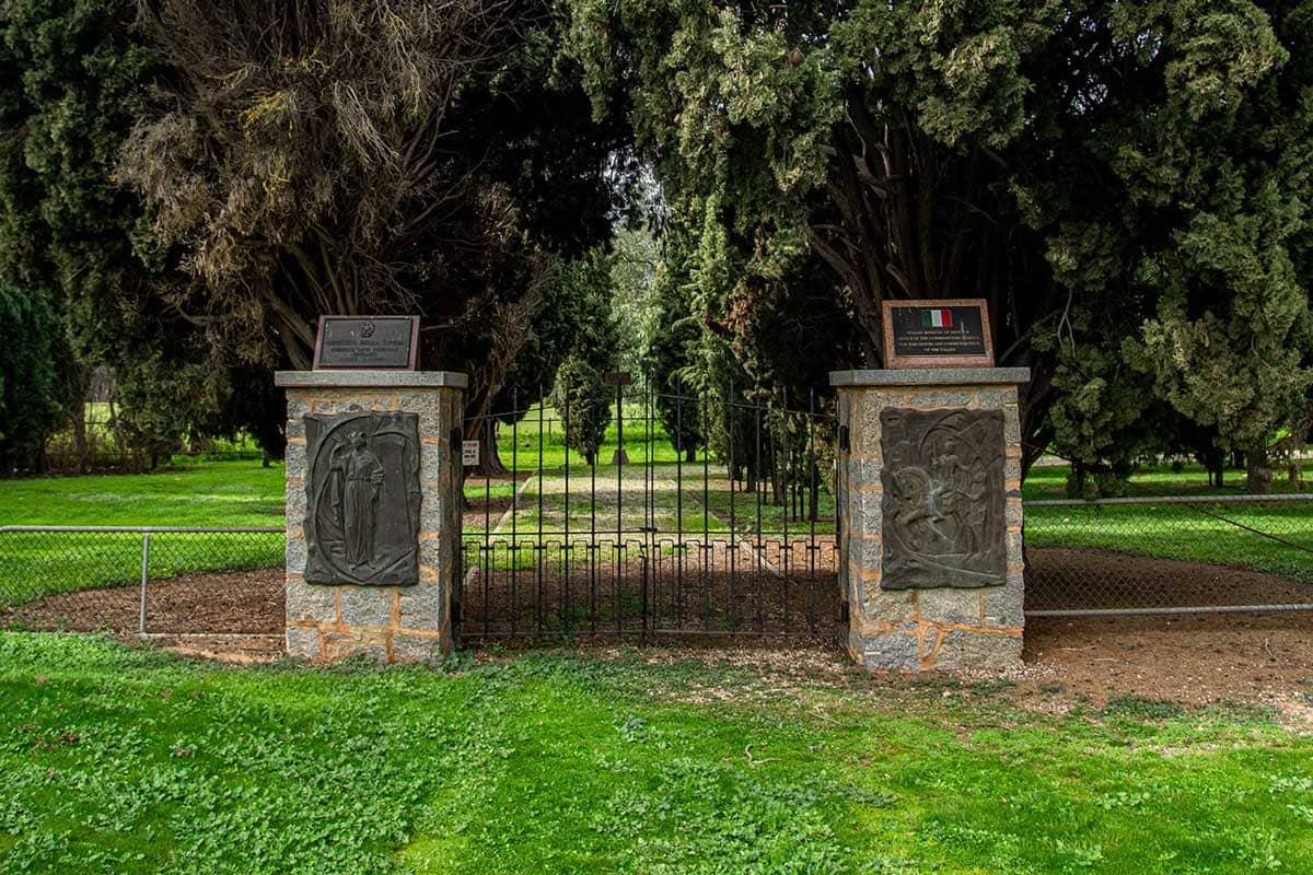 Cemetery Gate | Slides 08 | Murchison Cemetery